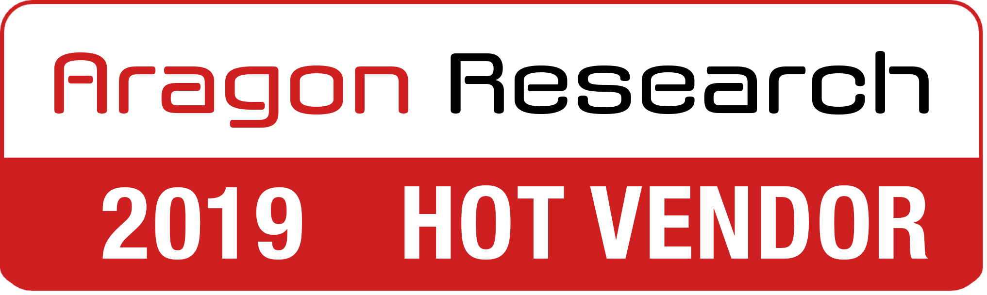 Aragon Research Hot Vendor 2019
