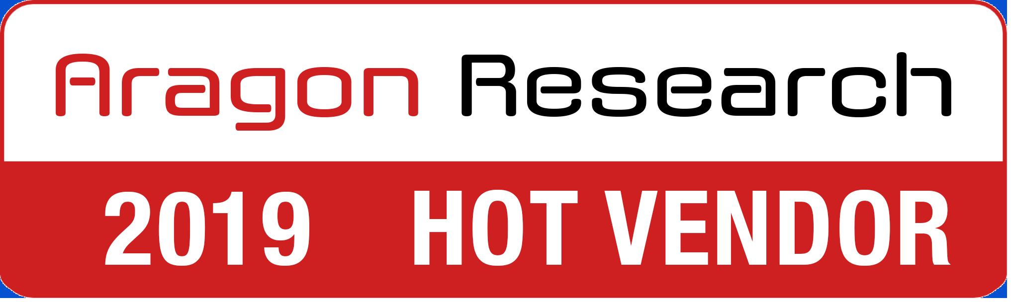 Aragon Research Hot Vendor 2019