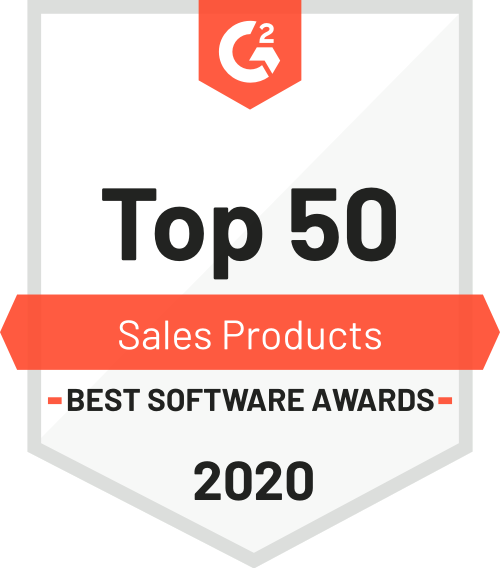 G2 Top 50 Sales Products