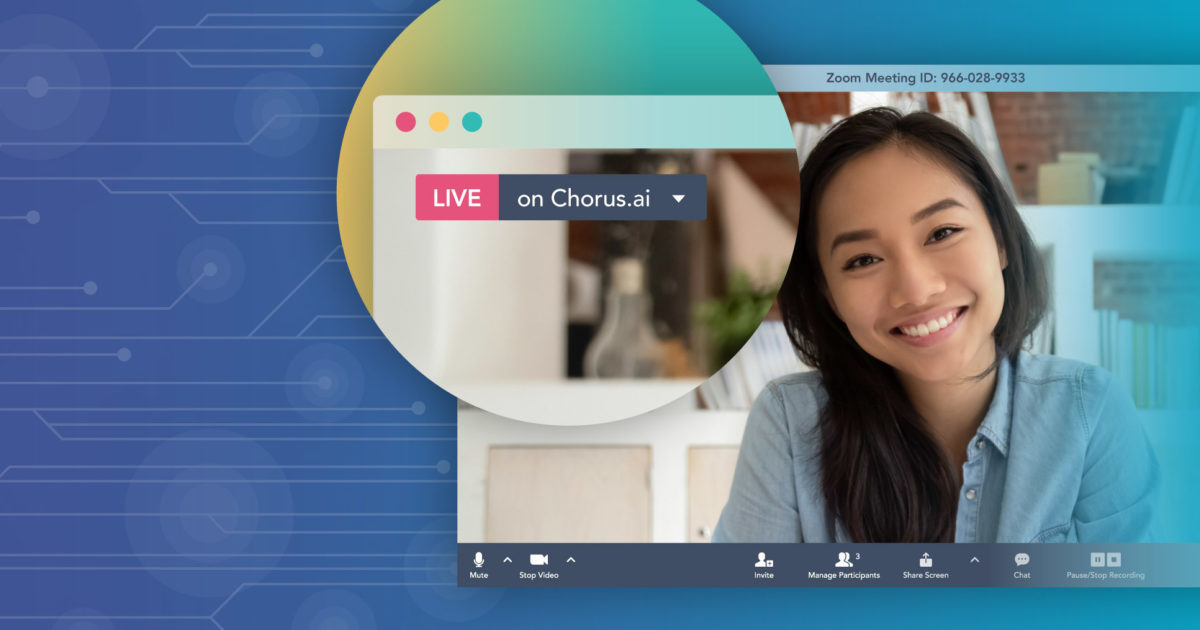 Chorus ai Announces Native Zoom Integration   Chorus ai